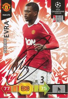 Patrice Evra   Manchester United  Panini CL Adrenalyn 2010/2011 Card- 10479