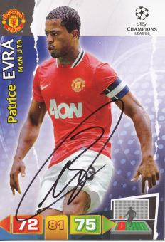 Patrice Evra   Manchester United  Panini CL Adrenalyn 2011/2012 Card- 10482