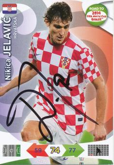 Nikica Jelavic   Kroatien  Panini WM 2014 Adrenalyn Card - 10662