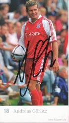 Andries Jonker Autogrammkarte Bayern München 2009-10 Original Signiert