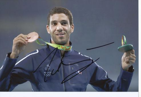 Mahledine Mekhissi  Frankreich 3000m Hindernis  3.OS  2016  Leichtathletik original signiert