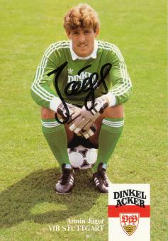 Armin Jäger  1983/1984   VFB Stuttgart  Fußball Autogrammkarte Druck signiert