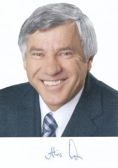Alois Karl  Politik  Autogrammkarte original signiert