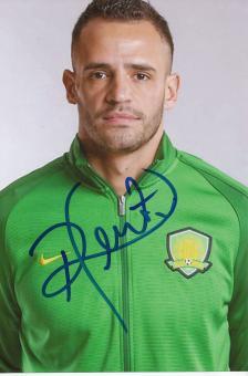 Renato Augusto  Brasilien Gold Olympia 2016  Fußball Autogramm Foto original signiert