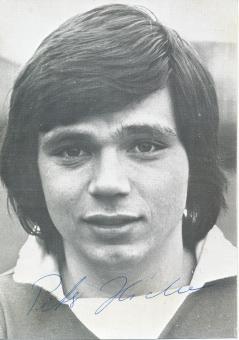 Peter Hidien  1977/1978  Hamburger SV  Fußball Autogrammkarte original signiert