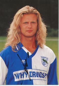 Alain Sutter  Grasshoppers Zürich  Fußball Autogrammkarte  original signiert