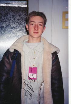 Evgeni Plushenko  Rußland  Eiskunstlauf  Autogramm Foto original signiert