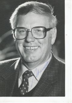 Rudi Arndt † 2004  SPD  Politik  Autogrammkarte original signiert