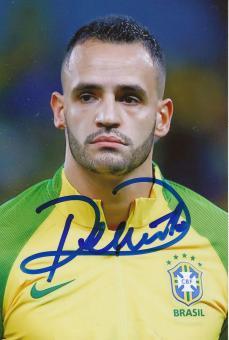 Renato Augusto   Brasilien   Fußball Autogramm Foto original signiert