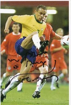 Franca  Brasilien   Fußball Autogramm Foto original signiert