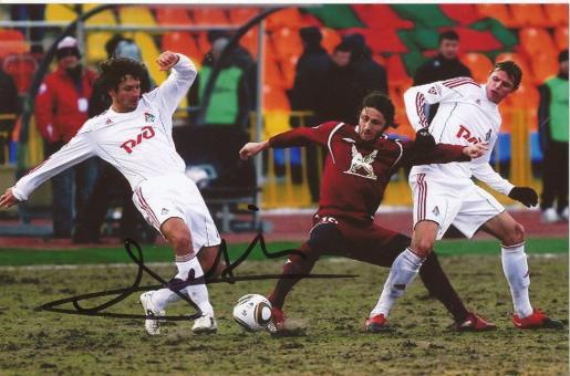 Fatih Tekke  Rubin Kasan  Fußball Autogramm Foto original signiert