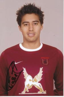Christian Noboa  Rubin Kasan  Fußball Autogramm Foto original signiert