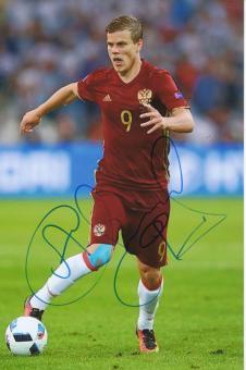 Alexander Kokorin  Rußland  Fußball Autogramm Foto original signiert