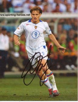 Ivan Saenko  Rußland  Fußball Autogramm Foto original signiert