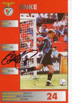 Robert Enke † 2009  Benfica Lissabon   Fußball  Autogrammkarte original signiert