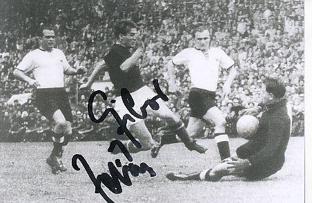 Zoltan Czibor † 1997  Ungarn  WM 1954   Fußball Autogramm Foto original signiert