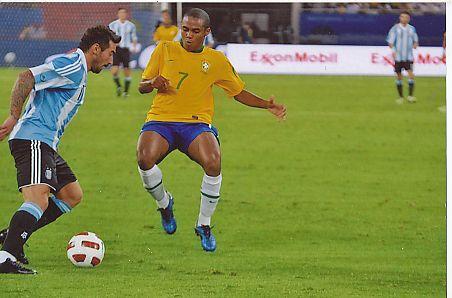 Elias Mendes Trindade   Brasilien  Nationalteam  Fußball Autogramm  Foto original signiert