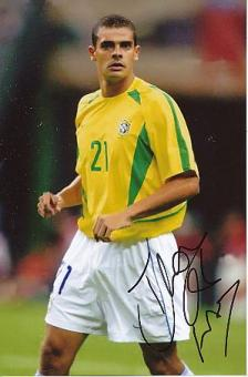 Ilan Araujo   Brasilien  Nationalteam  Fußball Autogramm  Foto original signiert