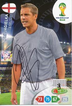 Phil Jagielka   England  Panini WM 2014 Adrenalyn Card - 10636
