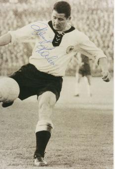 Helmut Rahn † 2003  DFB  Weltmeister WM 1954  Fußball Autogramm 30 x 20 cm Foto original signiert