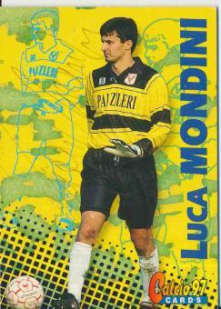 Luca Mondini  Vicenza Calcio   Trading Card orig. signiert