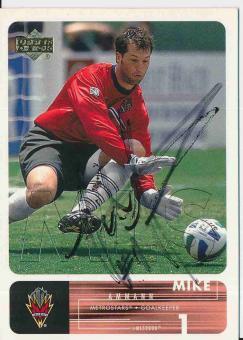 Mike Ammann   Metrostars   Trading Card orig. signiert