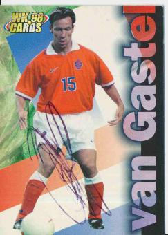 Jean Paul Van Gastel  Holland  WM 1998  Trading Card orig. signiert
