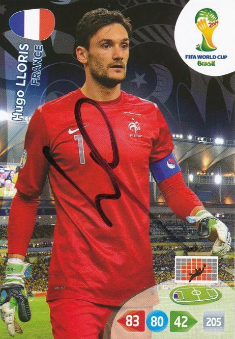 Hugo Lloris   Frankreich  Panini WM 2014 Adrenalyn Card - 10384