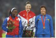 Stephanie Brown Trafton  USA  Diskus  1.OS  2008  Leichtathletik original signiert