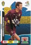 Andreas Isaksson  Schweden  EM 2012 Panini Adrenalyn Card - 10158