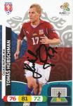 Tomas Hübschman   Tschechien  EM 2012  Panini Adrenalyn Card - 10166