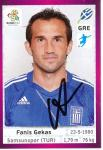 Fanis Gekas   Griechenland  EM 2012  Panini Sticker - 10219