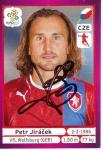 Petr Jiracek   Tschechien  EM 2012  Panini Sticker - 10235