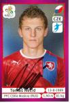 Tomas Necid   Tschechien  EM 2012  Panini Sticker - 10238
