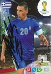 Jose Holebas   Griechenland  Panini WM 2014 Adrenalyn Card - 10369