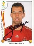 Sergio Busquets  Spanien   WM 2014 Panini Sticker - 10531