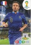 Mathieu Valbuena   Frankreich  Panini WM 2014 Adrenalyn Card - 10568