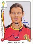 Daniel Van Buyten  Belgien  WM 2014 Panini Sticker - 10713