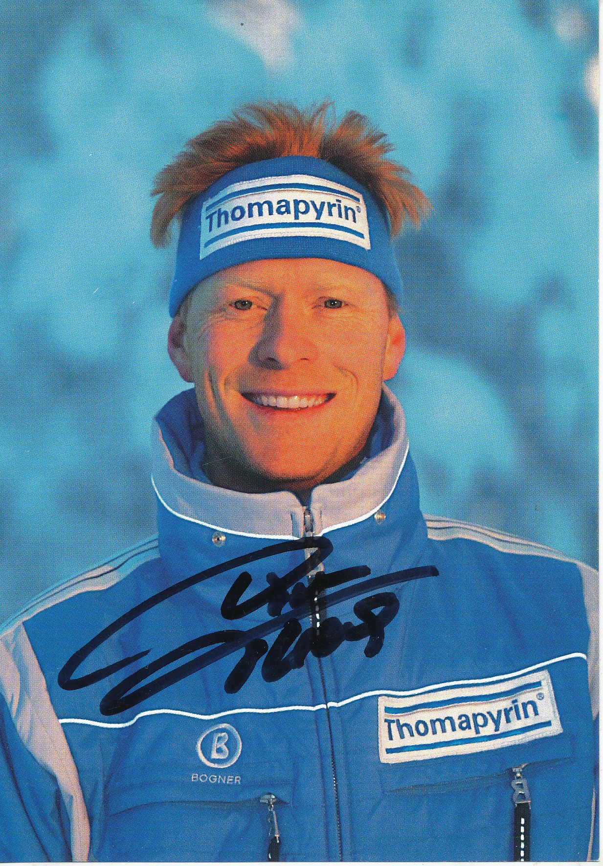 Dieter Thoma *UH* Skispringen Autogrammkarte original signiert AK 4234