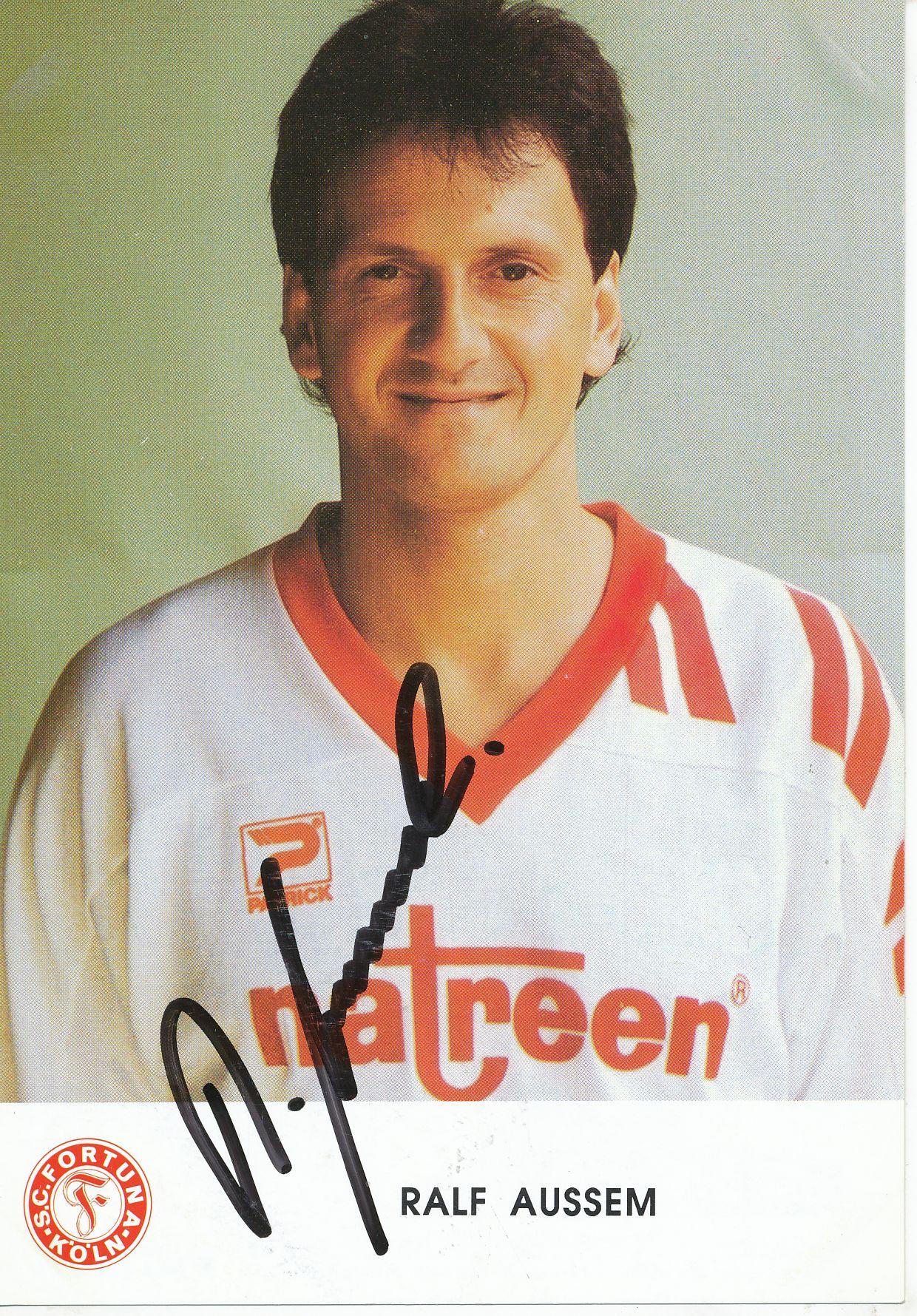 Ralf Sturm Autogrammkarte 1 FC Köln 1992-93 Original Signiert A 185097