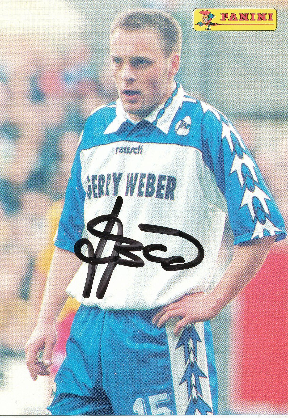 Heiko Gerber Autogrammkarte Arminia Bielefeld 1997-98 Original Sign+A 117907