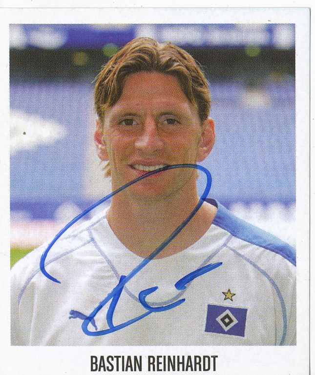 Panini 207 BL Fussball 2004//05 Bastian Reinhardt Hamburger SV